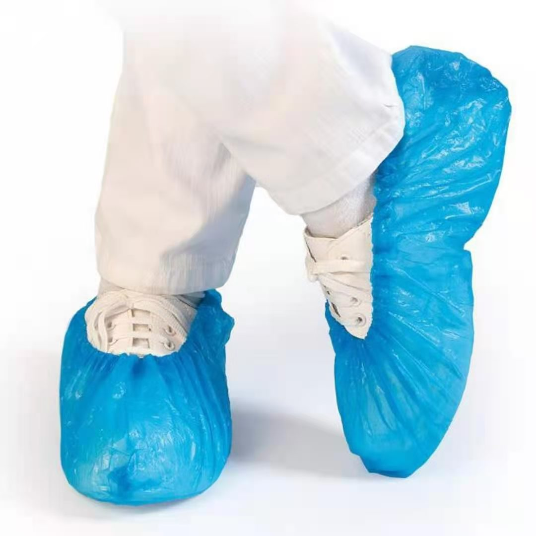 Schuhüberzieher Blau Überschuhe extrem reißfest wasserfest und rutschfest 100Stück/VE,blau