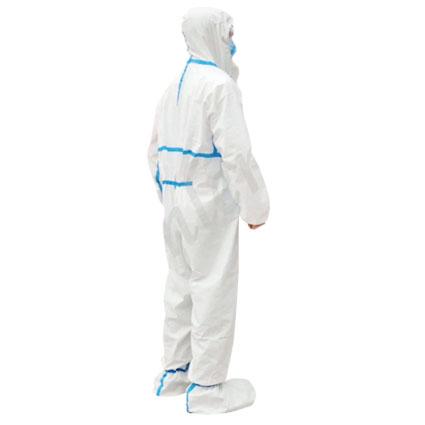 Chemikalien Schutzanzug Coverall PSA Cat. III weiß , 1 Stück