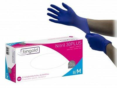 Nitril-Handschuhe Bingold  M 200St.(1 Box)